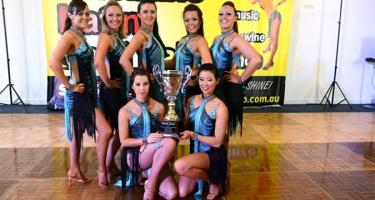 1st Place @ Int'l & Australia Salsa Solo